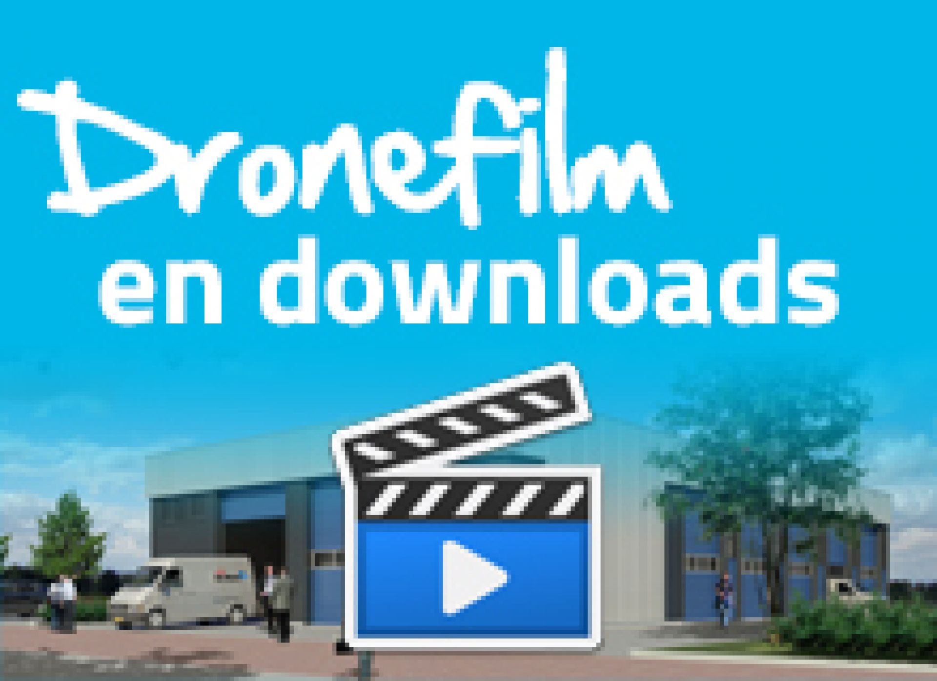 Dronefilm en downloads
