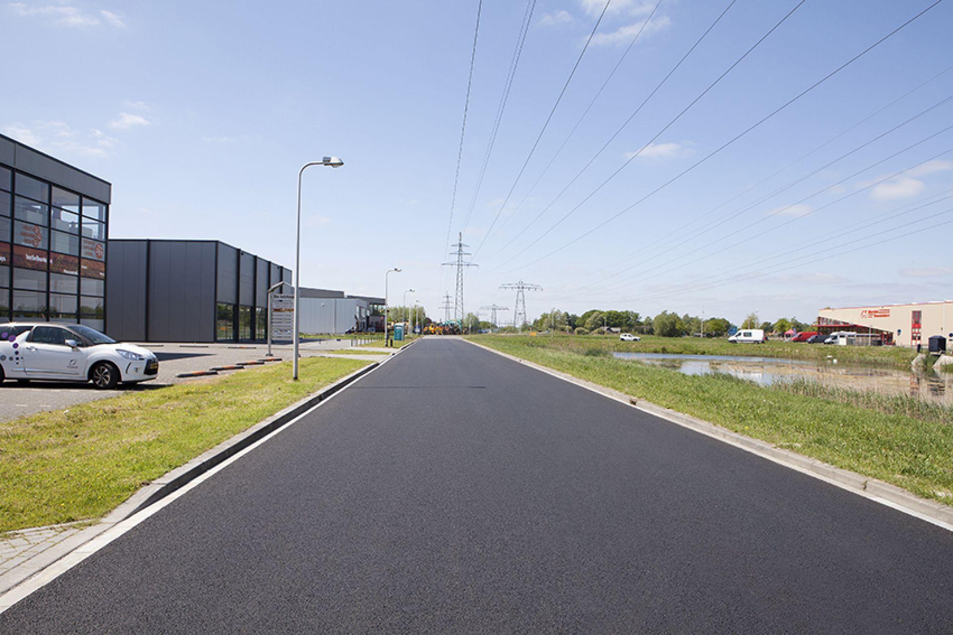 Vernieuwing asfaltwegen
